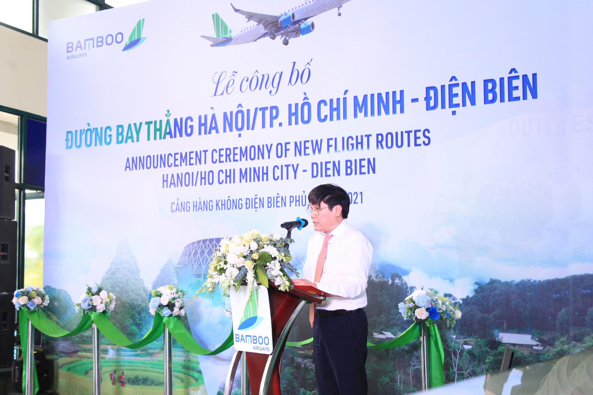 Bamboo Airways khai trương đường bay thẳng Hà Nội, TP Hồ Chí Minh - Điện Biên - Ảnh 2.