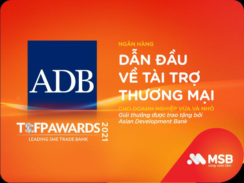 MSB nhận giải thưởng quốc tế uy tín về Tài trợ thương mại cho doanh nghiệp SME - Ảnh 1.