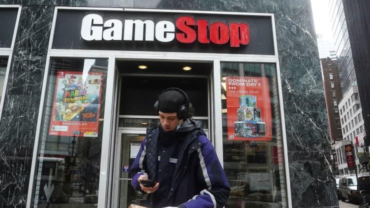 Đà tăng vũ bão của GameStop làm dấy lên lo ngại trên thị trường chứng khoán Mỹ - Ảnh 1.