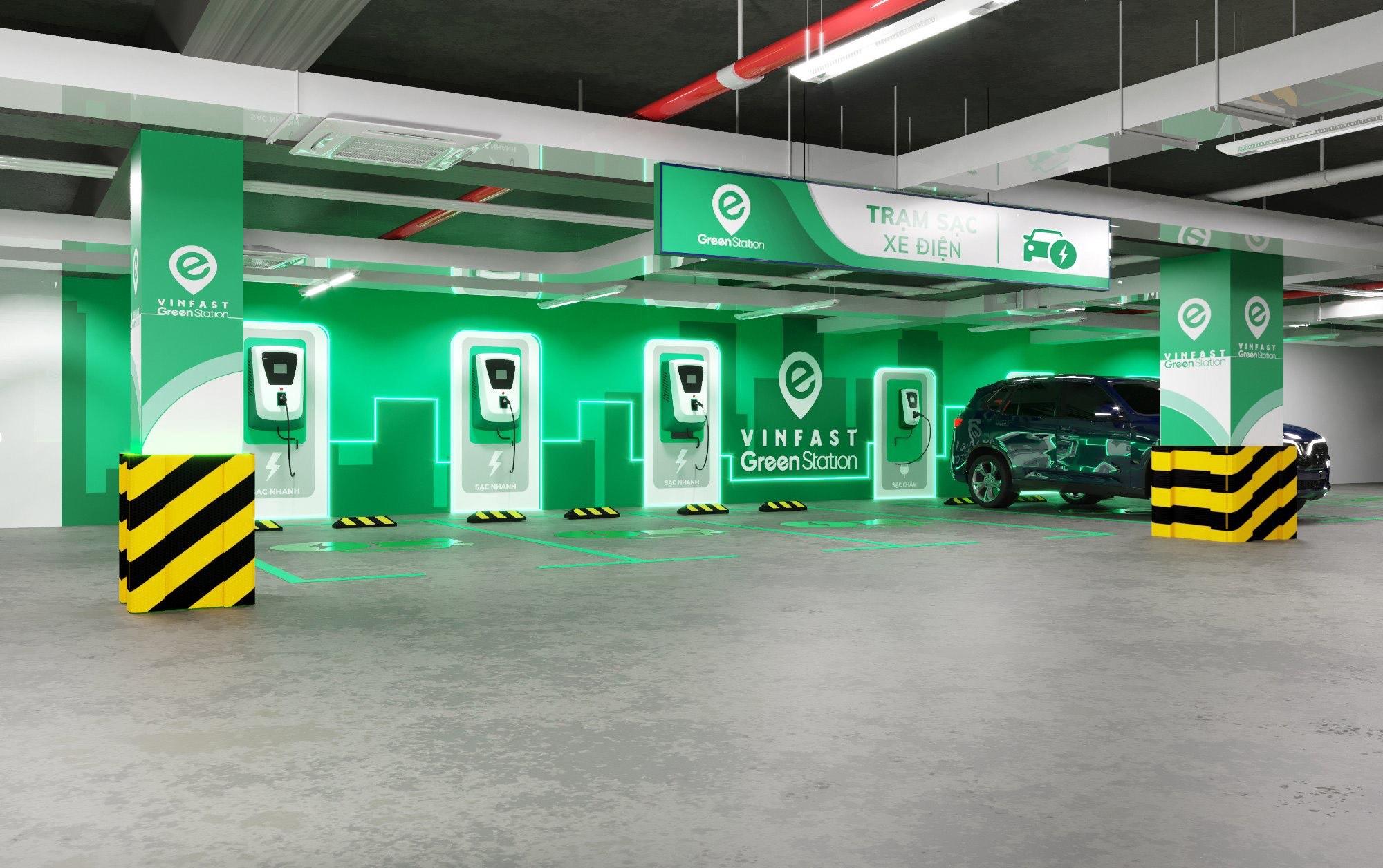 VinFast sẽ triển khai hơn 2.000 trạm sạc xe điện trong năm 2021 - Ảnh 1.