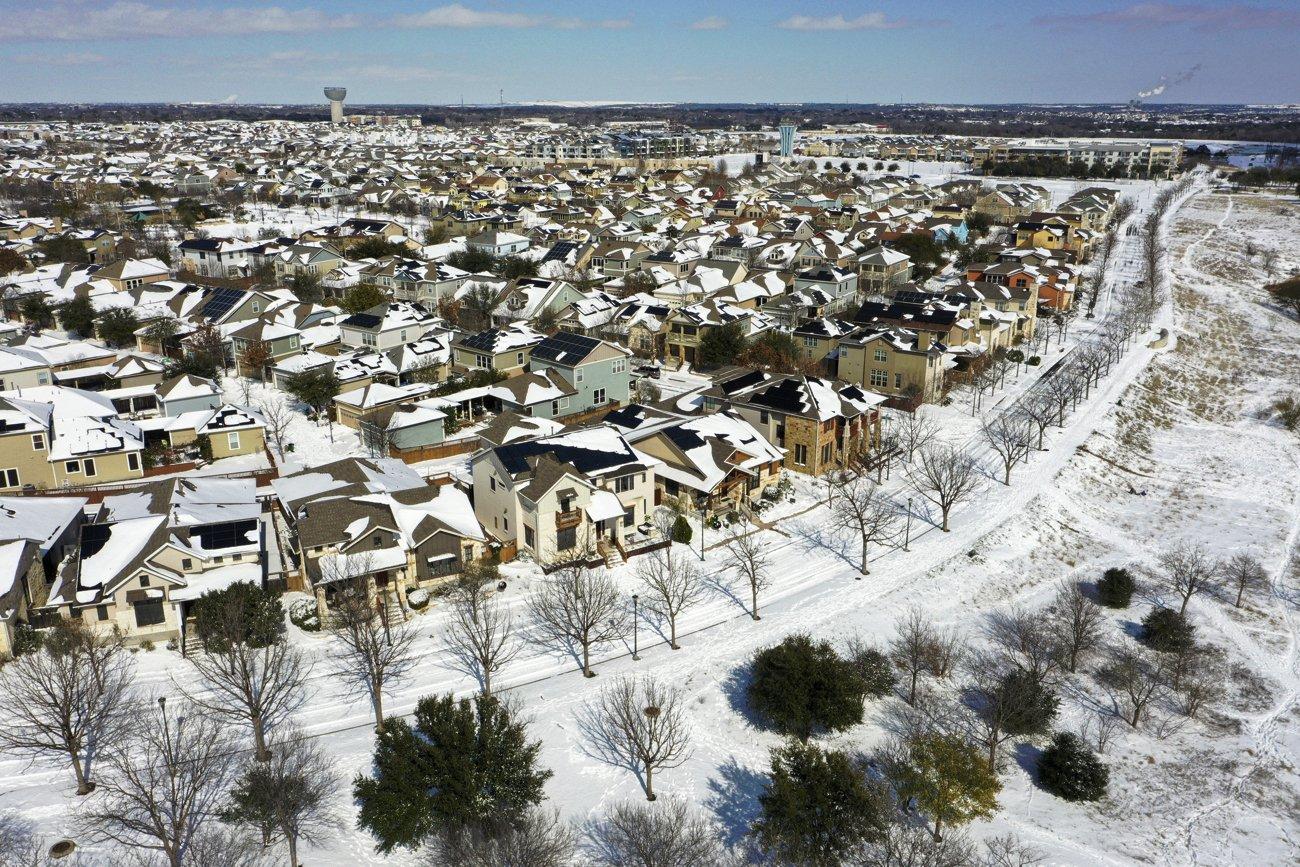 [PhotoStory] Những hình ảnh có một không hai về mùa đông khắc nghiệt trên đất Mỹ - Ảnh 12.