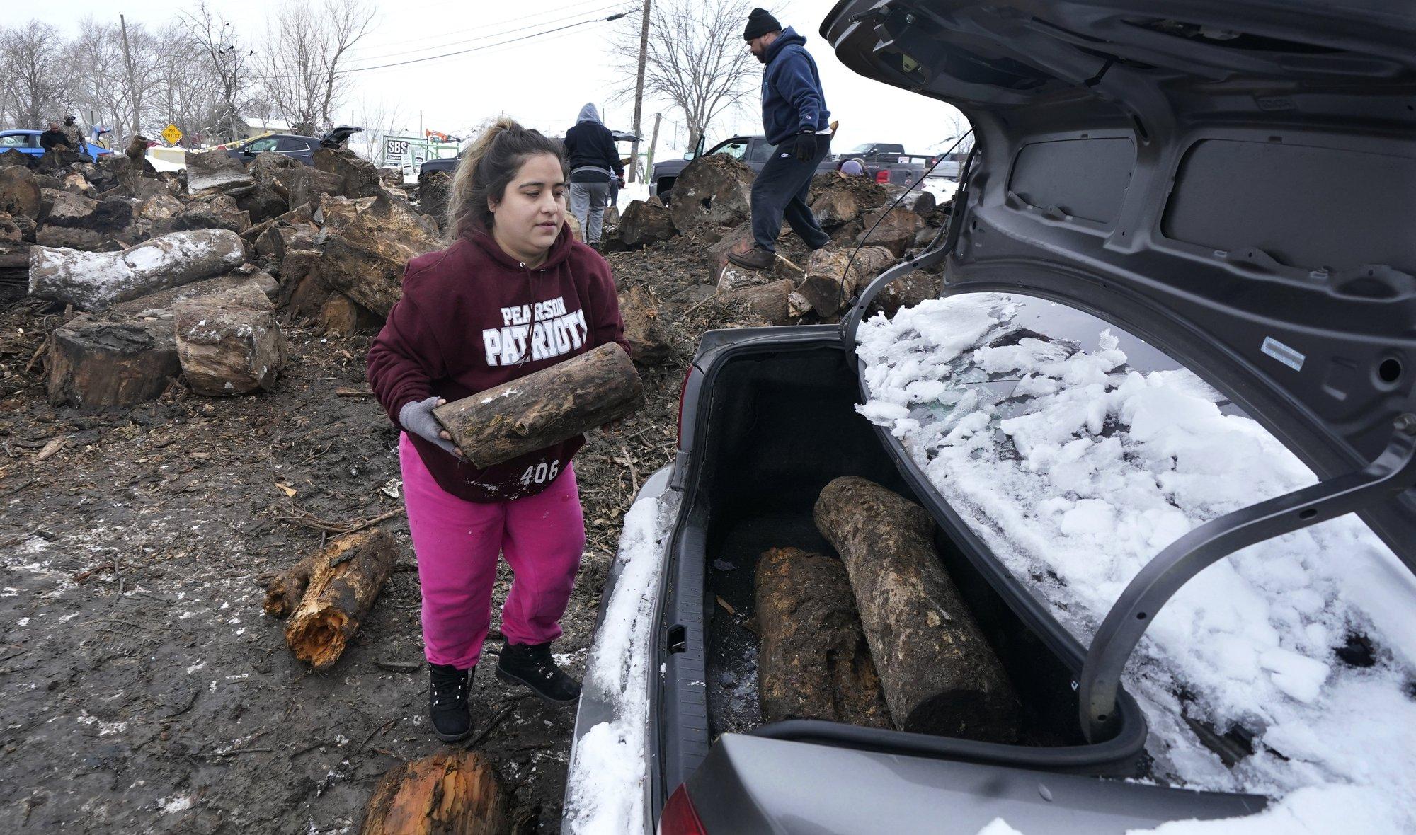 [PhotoStory] Những hình ảnh có một không hai về mùa đông khắc nghiệt trên đất Mỹ - Ảnh 22.