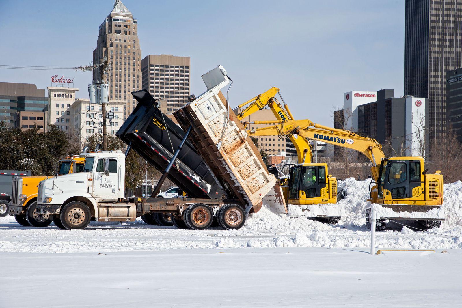 [PhotoStory] Những hình ảnh có một không hai về mùa đông khắc nghiệt trên đất Mỹ - Ảnh 16.