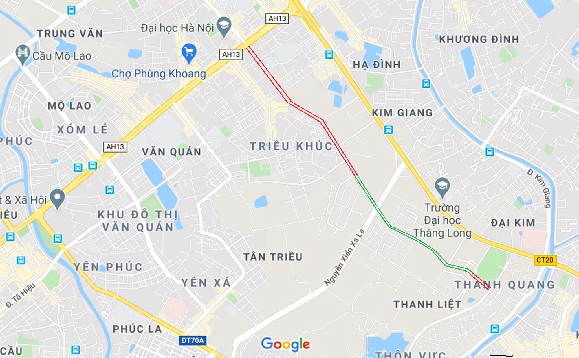 đường sẽ mở theo qui hoạch ở phường Đại Kim, Hoàng Mai, Hà Nội - Ảnh 6.