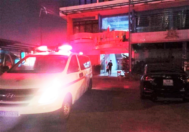 Nam công nhân quê Hải Dương có dấu hiệu ho, sốt trốn khỏi bệnh viện ở Đà Nẵng - Ảnh 1.