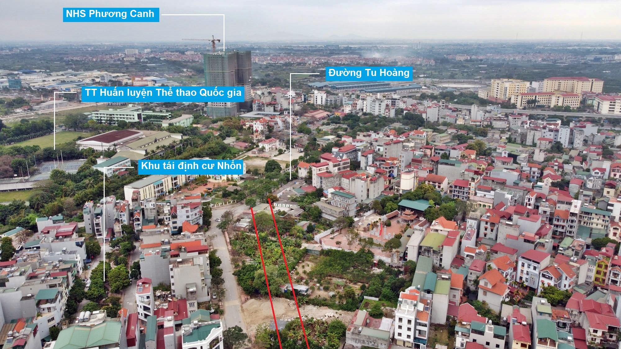 Ba đường sẽ mở theo qui hoạch ở phường Phương Canh, Nam Từ Liêm, Hà Nội (phần 2) - Ảnh 3.