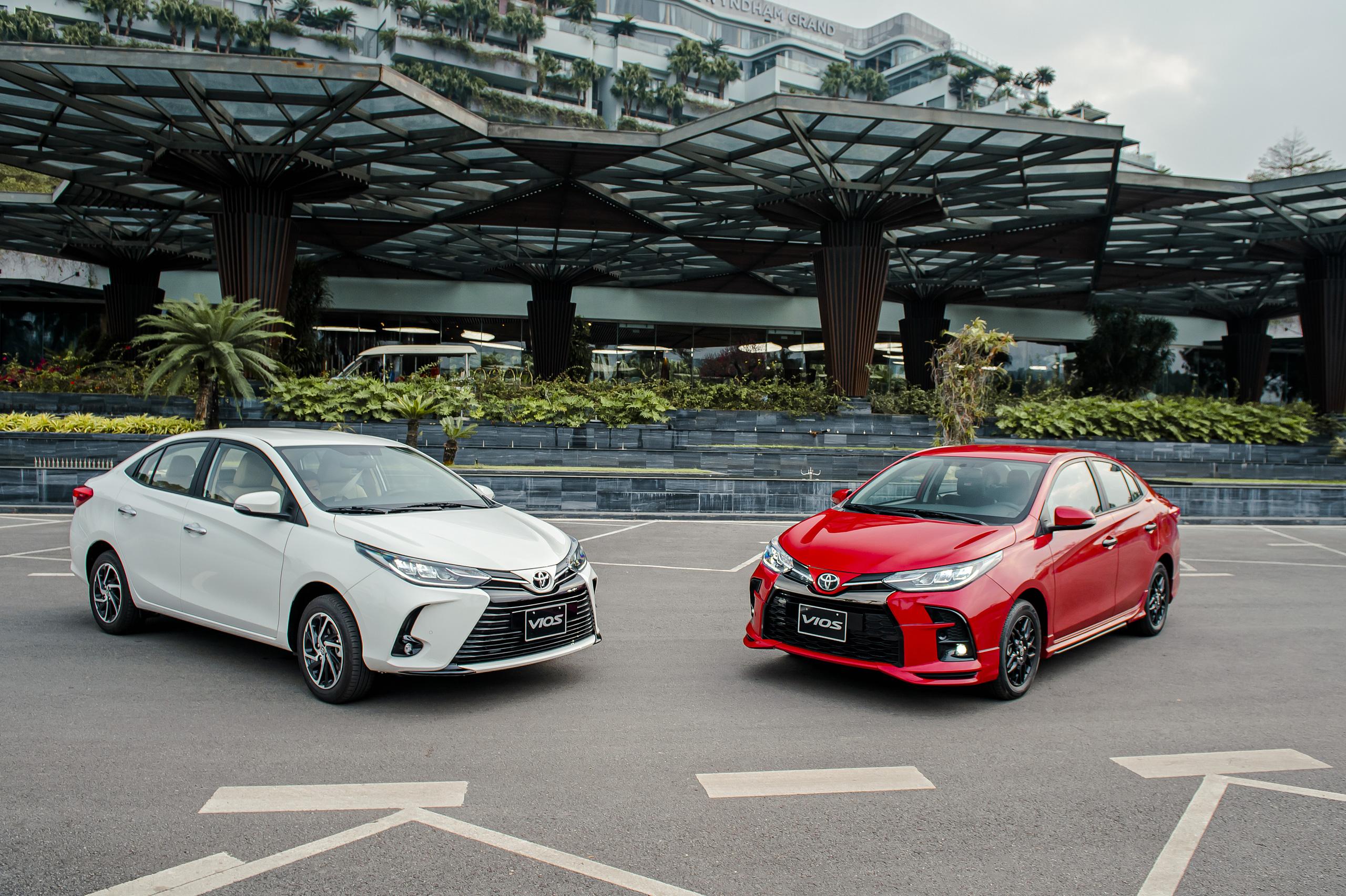 Chiếc Toyota Vios 2021 đầu tiên xuất hiện tại Việt Nam, giá chỉ từ 478 triệu đồng - Ảnh 1.