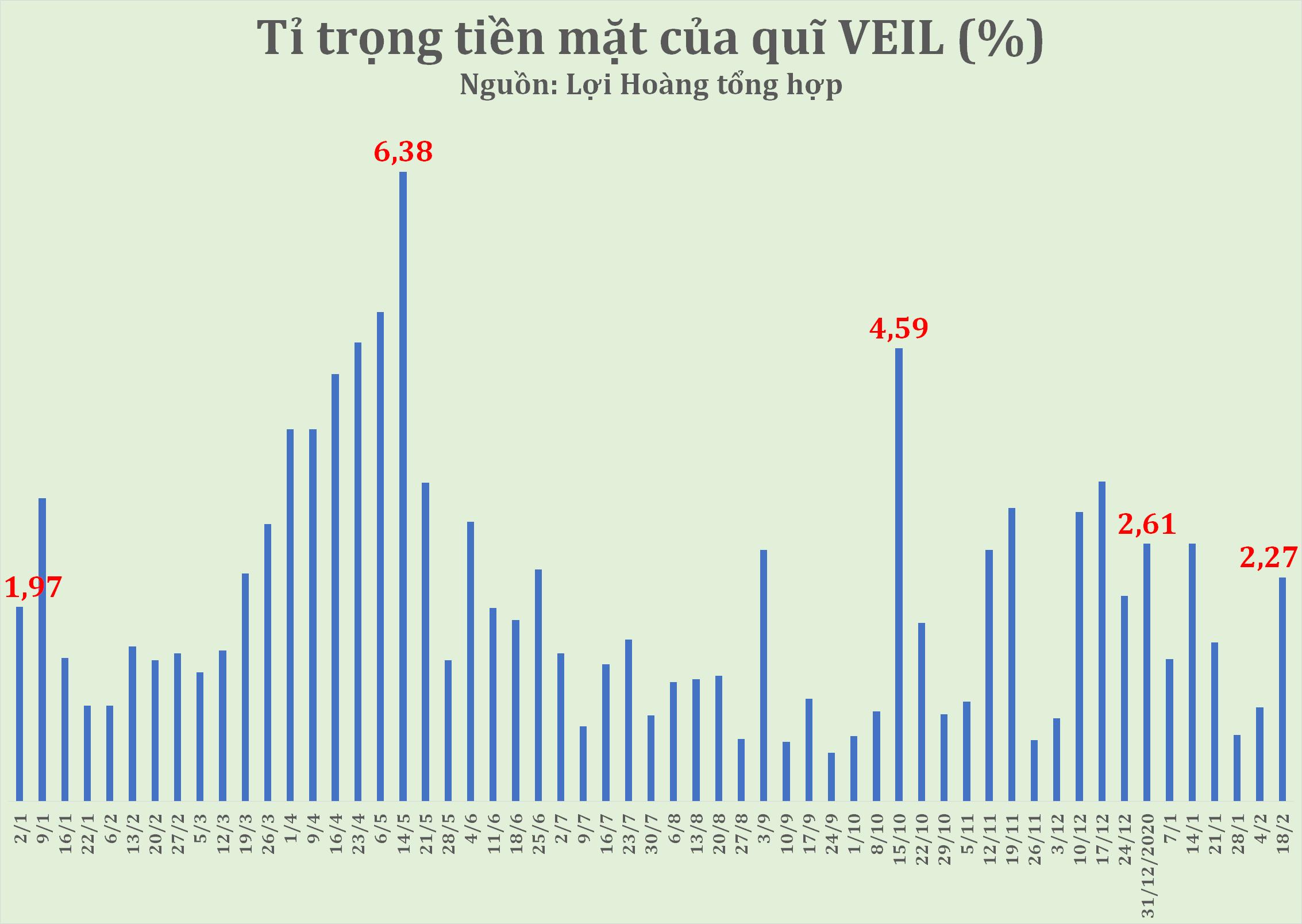 Quy mô quỹ VEIL của Dragon Capital vượt 2 tỷ USD, lãi gần 13% sau 2 tháng - Ảnh 1.