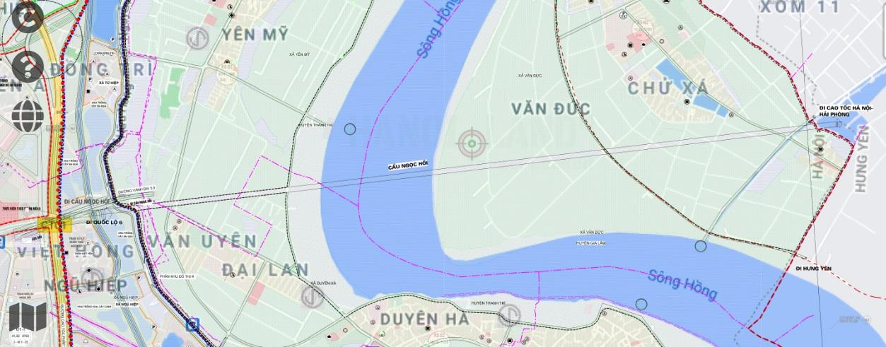 Khi nào làm cầu Ngọc Hồi gần loạt khu đô thị lớn của Vinhomes, Ecopark? - Ảnh 4.