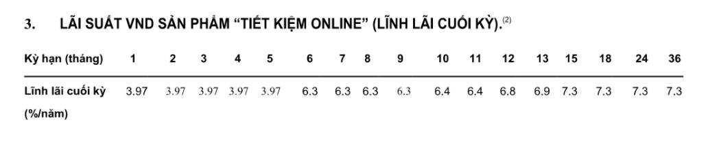 Lãi suất Ngân hàng Việt Á tháng 2/2021 cao nhất là 7,3%/năm - Ảnh 2.