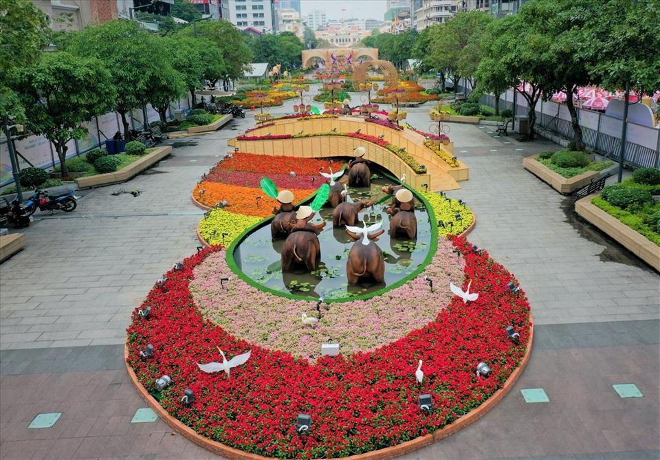 Nova Group tài trợ đường hoa tại TP HCM, Phan Thiết và Biên Hòa - Ảnh 2.