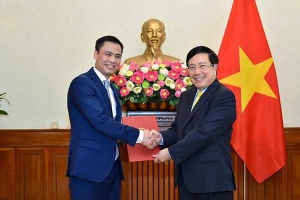 Thủ tướng bổ nhiệm ông Đặng Hoàng Giang giữ chức Thứ trưởng Bộ Ngoại giao - Ảnh 1.