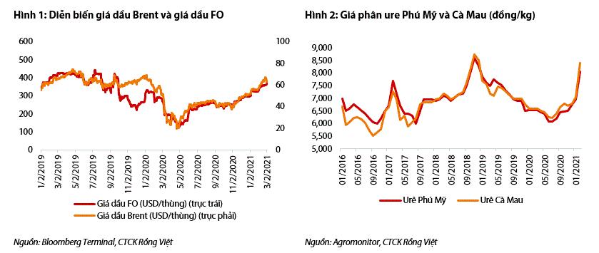VDSC: Đạm Cà Mau có thể lãi đột biến quý I nhờ giá phân bón tăng mạnh - Ảnh 1.