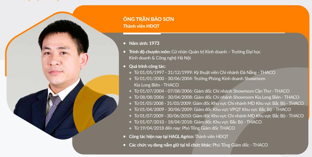 Người của Thaco làm tổng giám đốc HAGL Agrico - Ảnh 1.