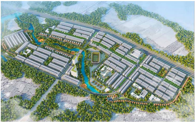 Khu đô thị mới Mái Dầm 4.000 tỷ tại Hậu Giang chính thức về tay Đất Xanh - Ảnh 1.
