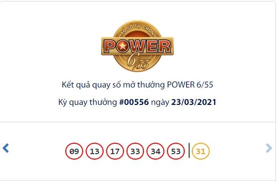 Kết quả Vietlott Power 6/55 ngày 23/3: Hơn 117 tỷ đồng Jackpot vẫn chưa có chủ sở hữu - Ảnh 1.