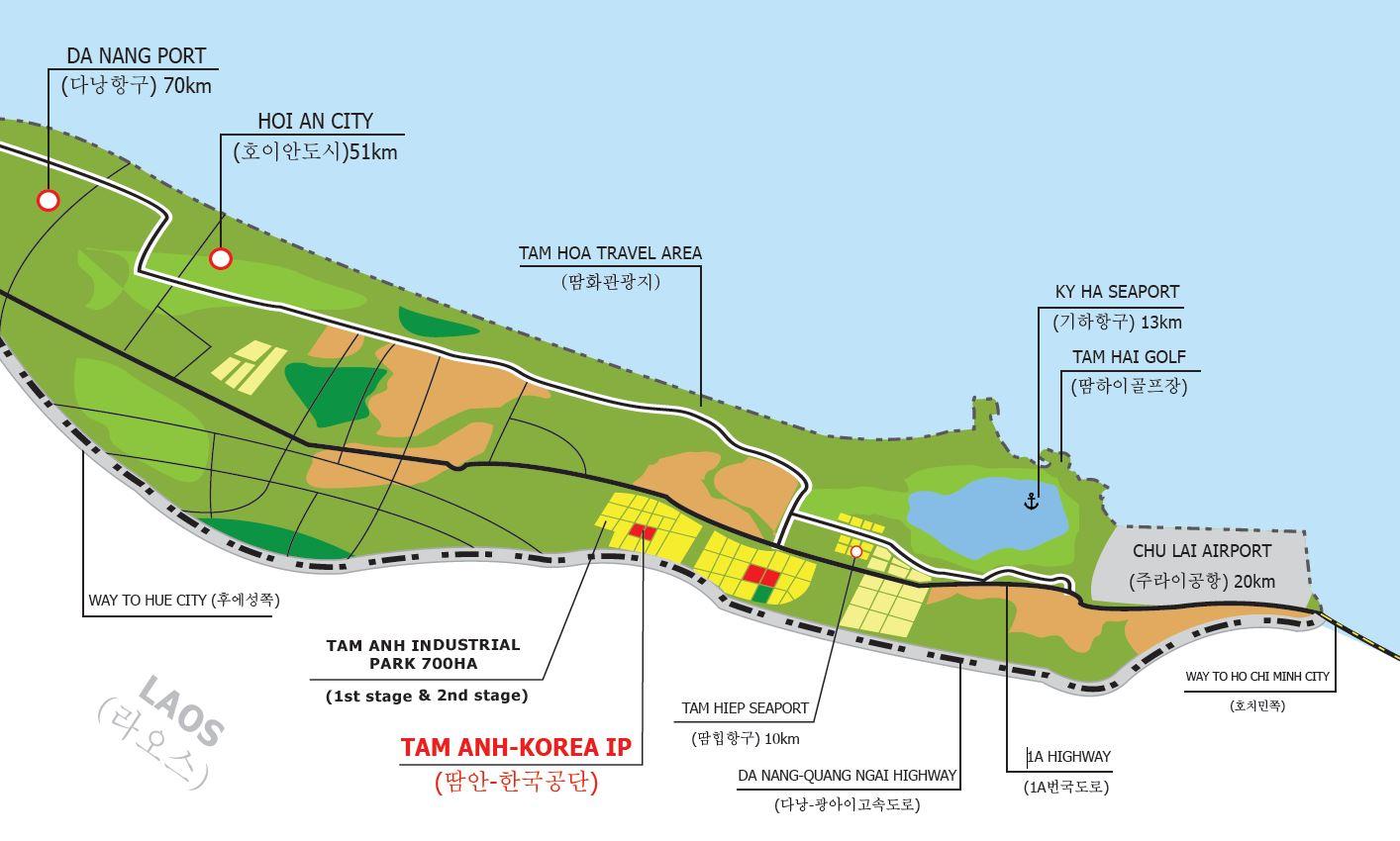 Quảng Nam: Hai dự án khu công nghiệp hơn 367 ha chậm triển khai - Ảnh 1.