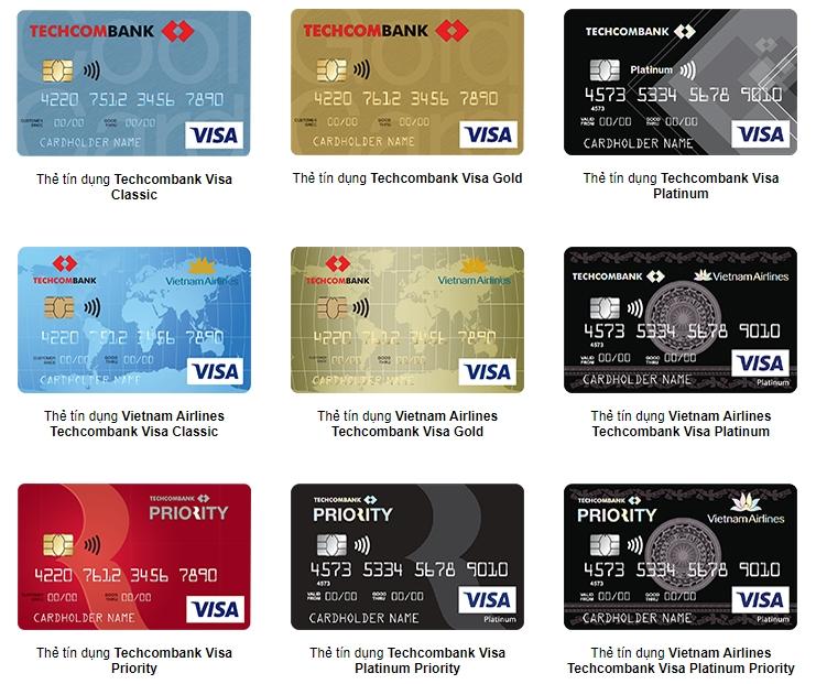 Lãi suất thẻ tín dụng Techcombank mới mới nhất năm 2021 - Ảnh 1.