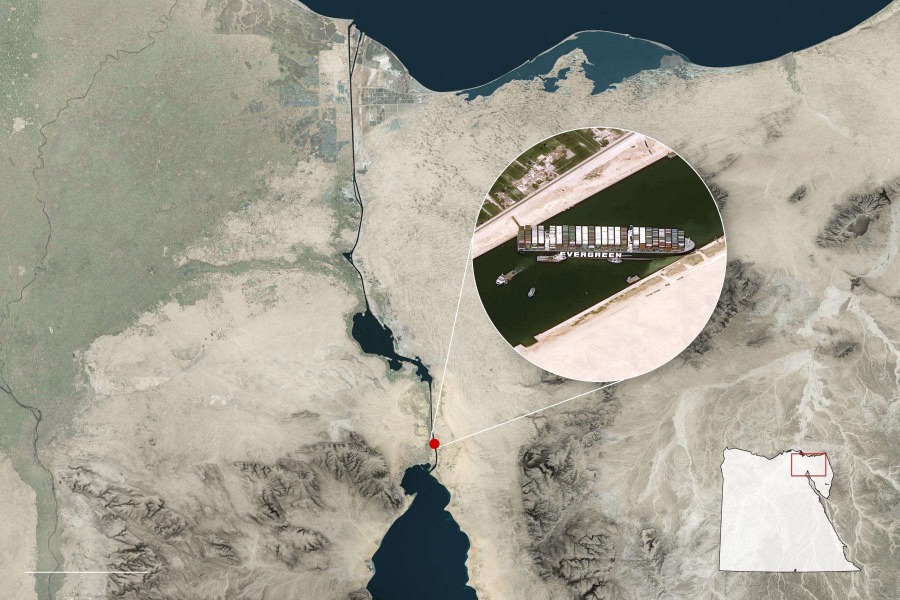 Tầm quan trọng của kênh đào Suez nhìn từ trang sử lúc trầm, lúc bổng hơn 150 năm  - Ảnh 2.