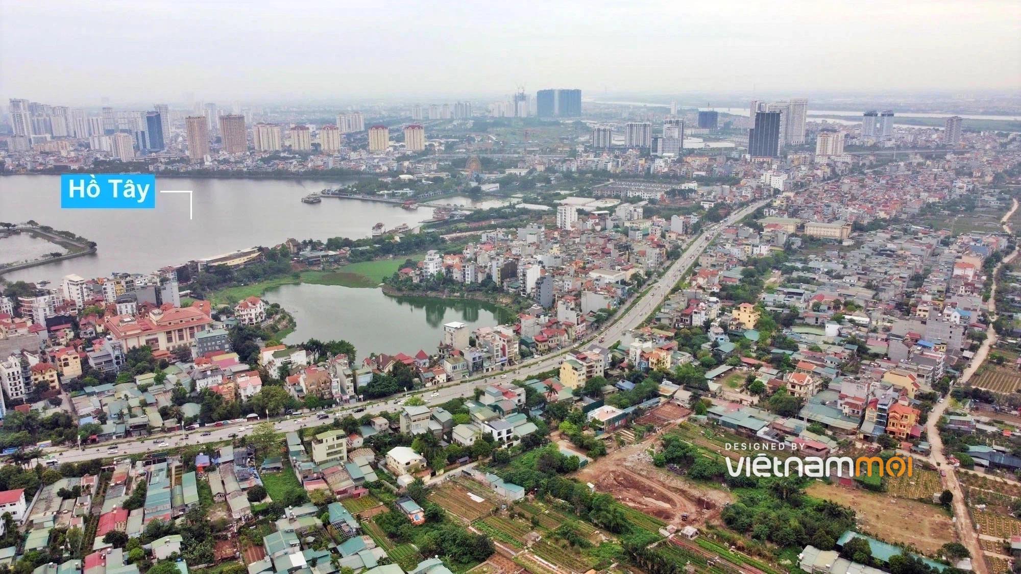 Quận Tây Hồ sẽ thu hồi 124 ha đất năm 2021, một số khu đất thuộc phân khu đô thị sông Hồng  - Ảnh 1.