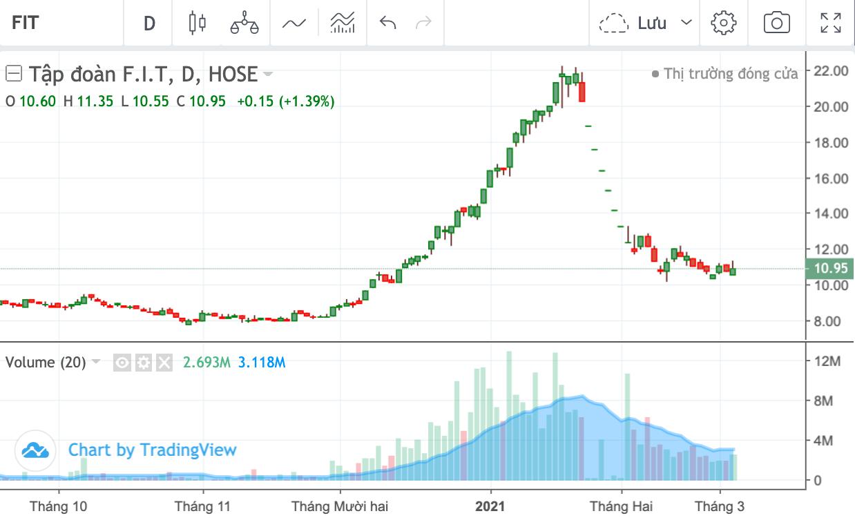 Đầu tư KD chỉ mua 2% lượng cổ phiếu FIT đăng ký khi giá lao dốc - Ảnh 1.