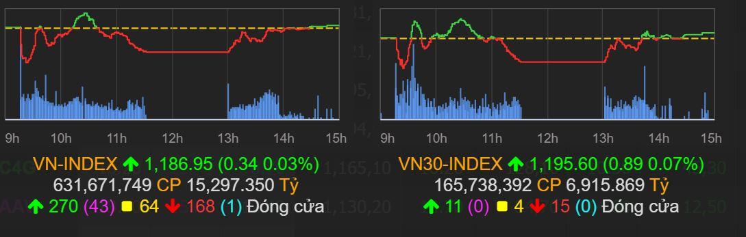 Thị trường chứng khoán (3/3): Hồi phục phiên chiều, VN-Index bất ngờ tăng nhẹ, nhóm penny đồng loạt tăng trần - Ảnh 1.