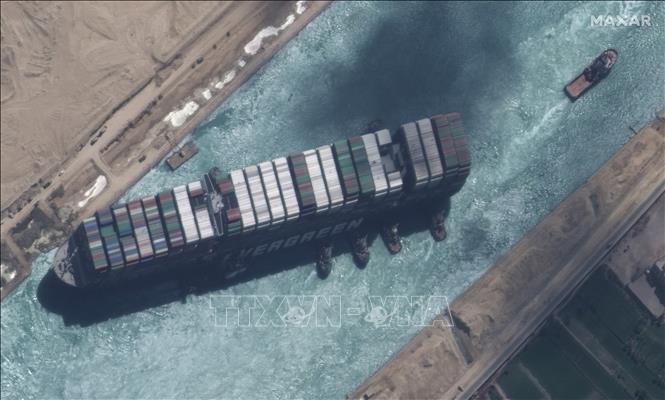 Ai Cập thông báo kế hoạch giải tỏa ùn tắc ở kênh đào Suez - Ảnh 1.
