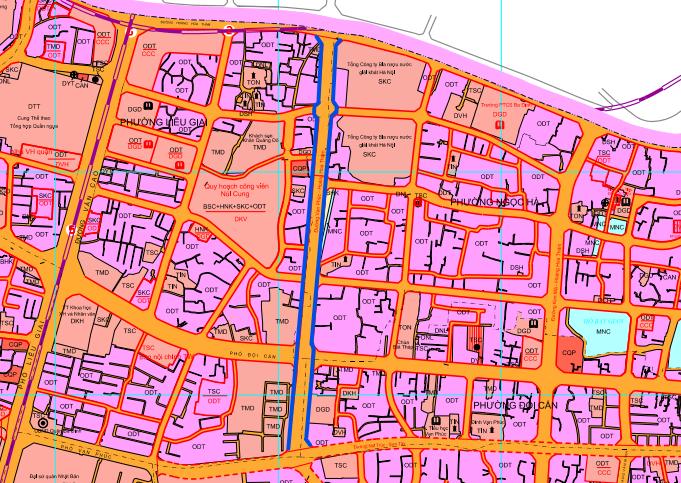 Đường sắp mở theo quy hoạch ở phường Liễu Giai, Ba Đình, Hà Nội: Đường Vạn Phúc - Hoàng Hoa Thám - Ảnh 1.
