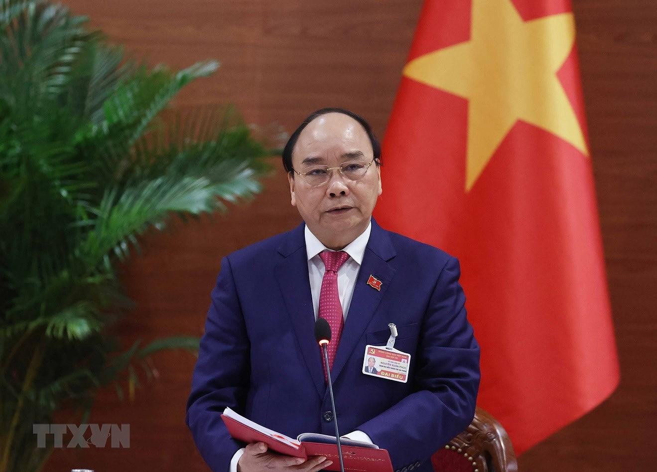 Chiều 1/4, trình Quốc hội miễn nhiệm Thủ tướng Nguyễn Xuân Phúc - Ảnh 1.