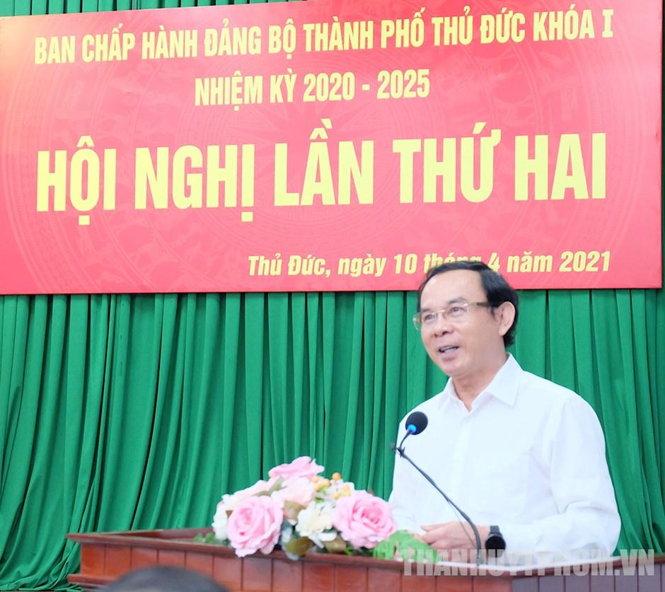 Bí thư Nguyễn Văn Nên: TP Thủ Đức với điều kiện đặc thù phải có cơ chế đặc thù - Ảnh 1.