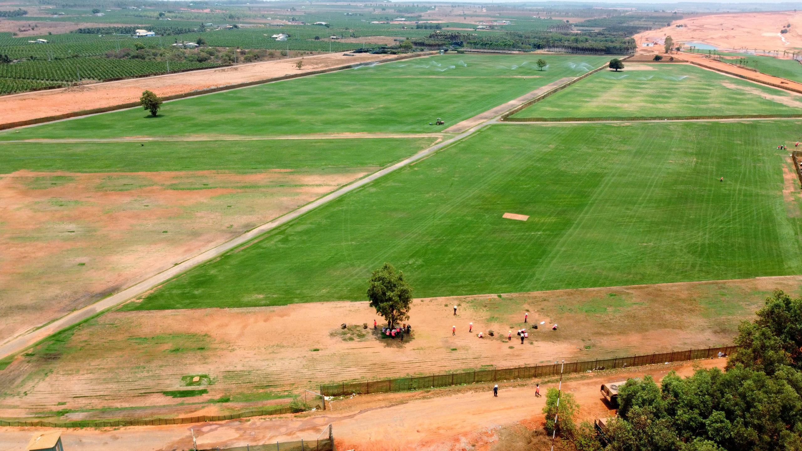 Cận cảnh sân golf tiêu chuẩn PGA tại Novaworld Phan Thiet trước ngày khai trương - Ảnh 6.