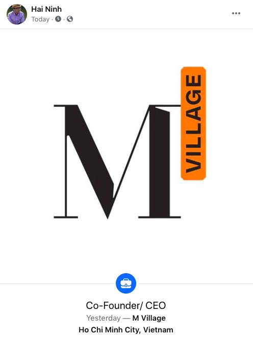 Người đồng sáng lập The Coffee House Nguyễn Hải Ninh trở lại với startup cho thuê căn hộ M Village - Ảnh 1.
