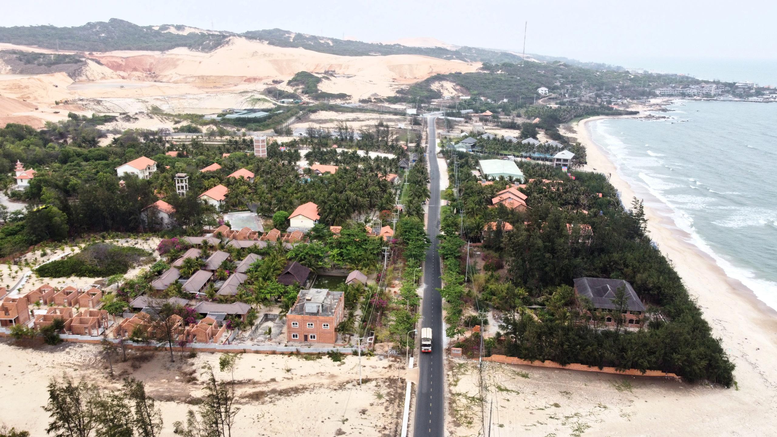Cận cảnh tuyến đường ven biển ĐT.719 đoạn Phan Thiết - Kê Gà - Ảnh 11.