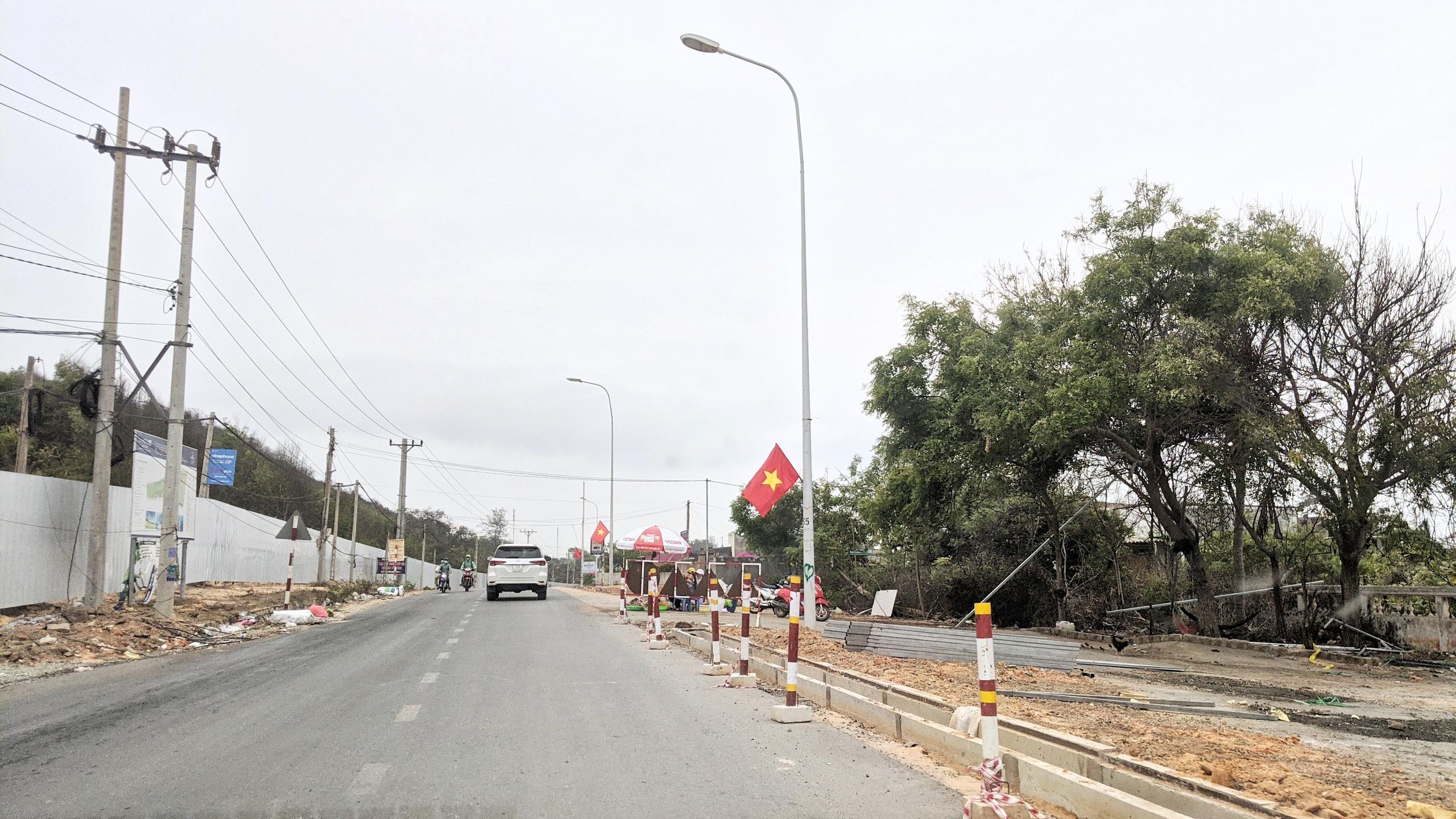 Cận cảnh tuyến đường ven biển ĐT.719 đoạn Phan Thiết - Kê Gà - Ảnh 12.