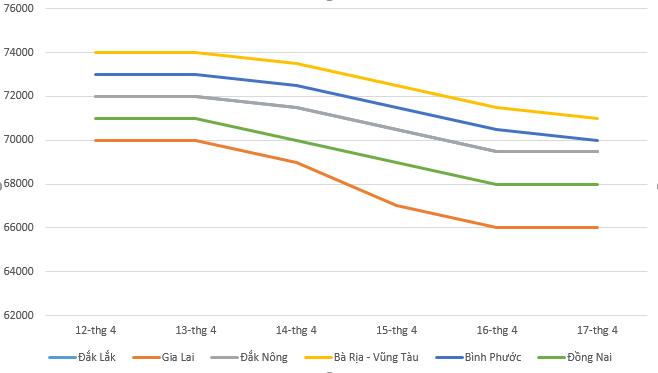 Giá tiêu hôm nay 18/4: Thị trường ghi nhận xu hướng đi xuống - Ảnh 1.