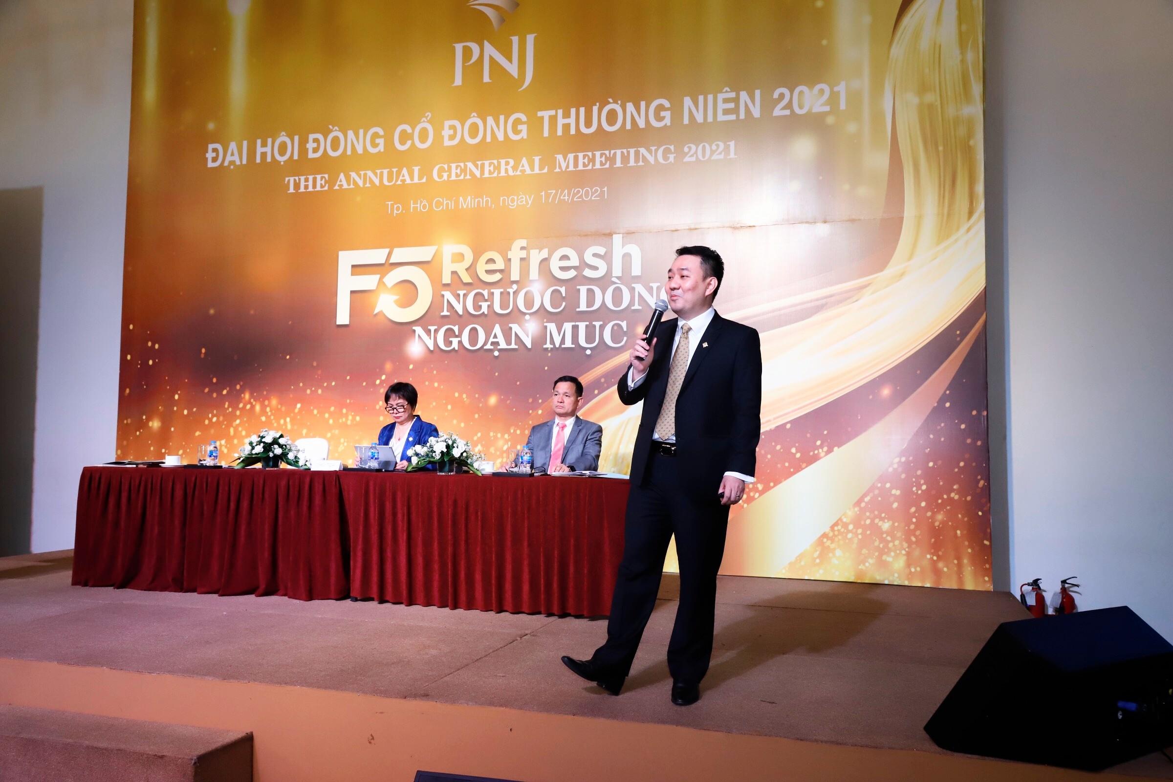ĐHĐCĐ PNJ: Giá cổ phiếu PNJ còn cao hơn nữa trong nửa cuối năm 2021 - Ảnh 1.