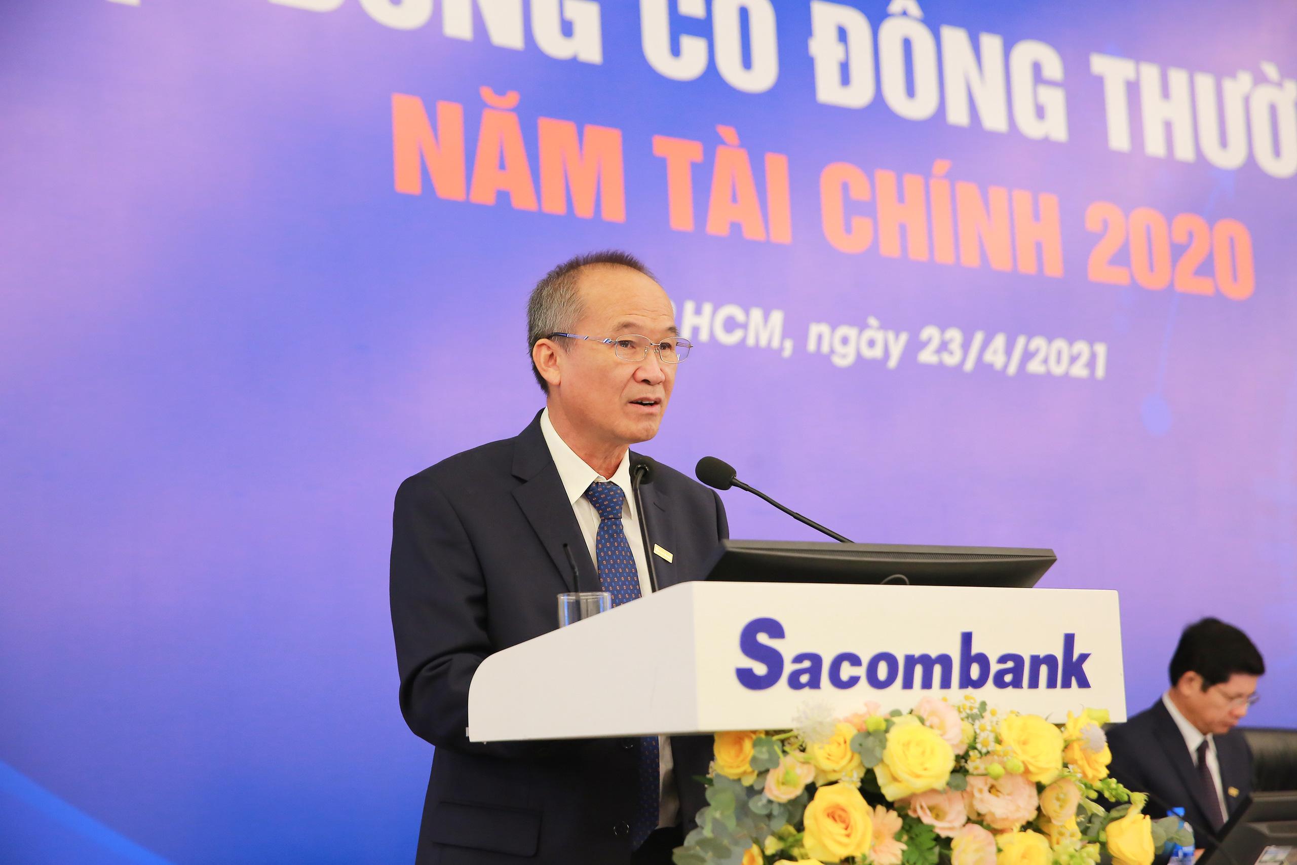 Chủ tịch Sacombank: Dự kiến đến năm 2022 hoặc đầu năm 2023 có thể chia cổ tức - Ảnh 1.