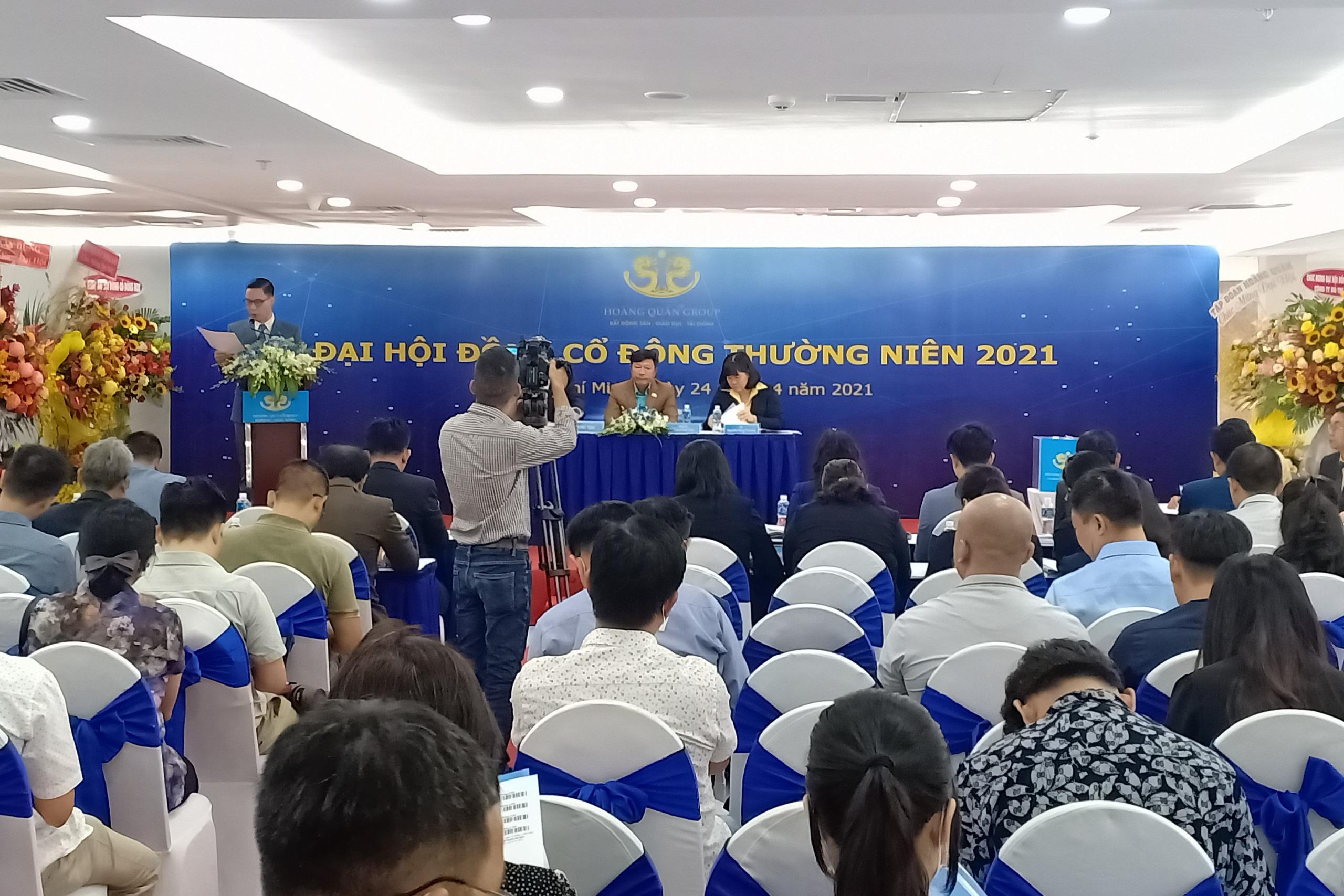 ĐHĐCĐ Địa ốc Hoàng Quân: Hợp tác làm 7 dự án cao cấp tại TP HCM, triển khai KCN ở Bình Thuận