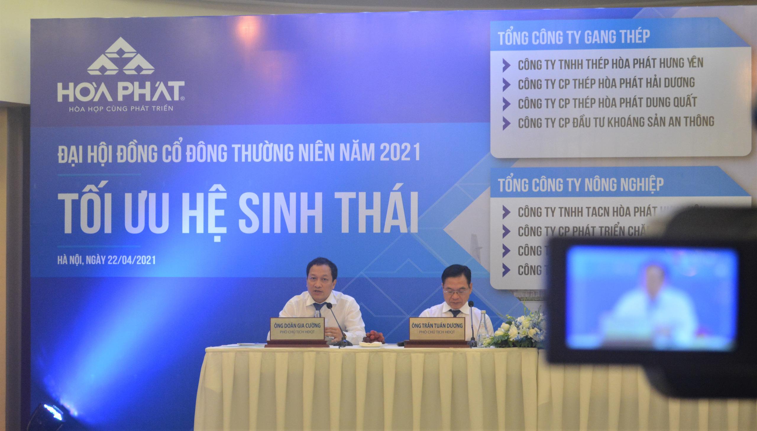 Doanh thu nông nghiệp của Hòa Phát giảm 19% - Ảnh 1.