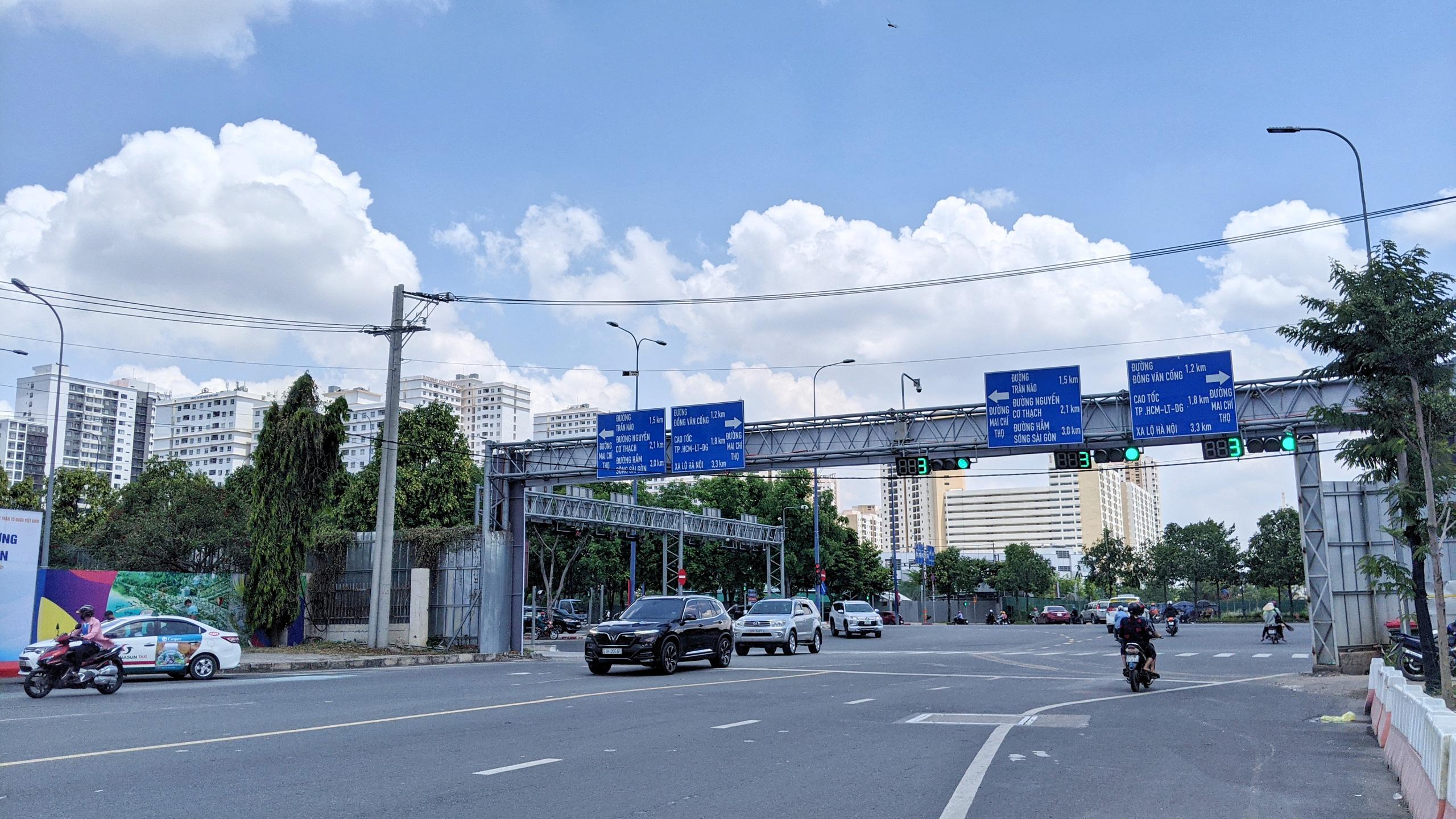 Ngắm những tuyến đường vừa được đặt tên ở TP Thủ Đức - Ảnh 6.
