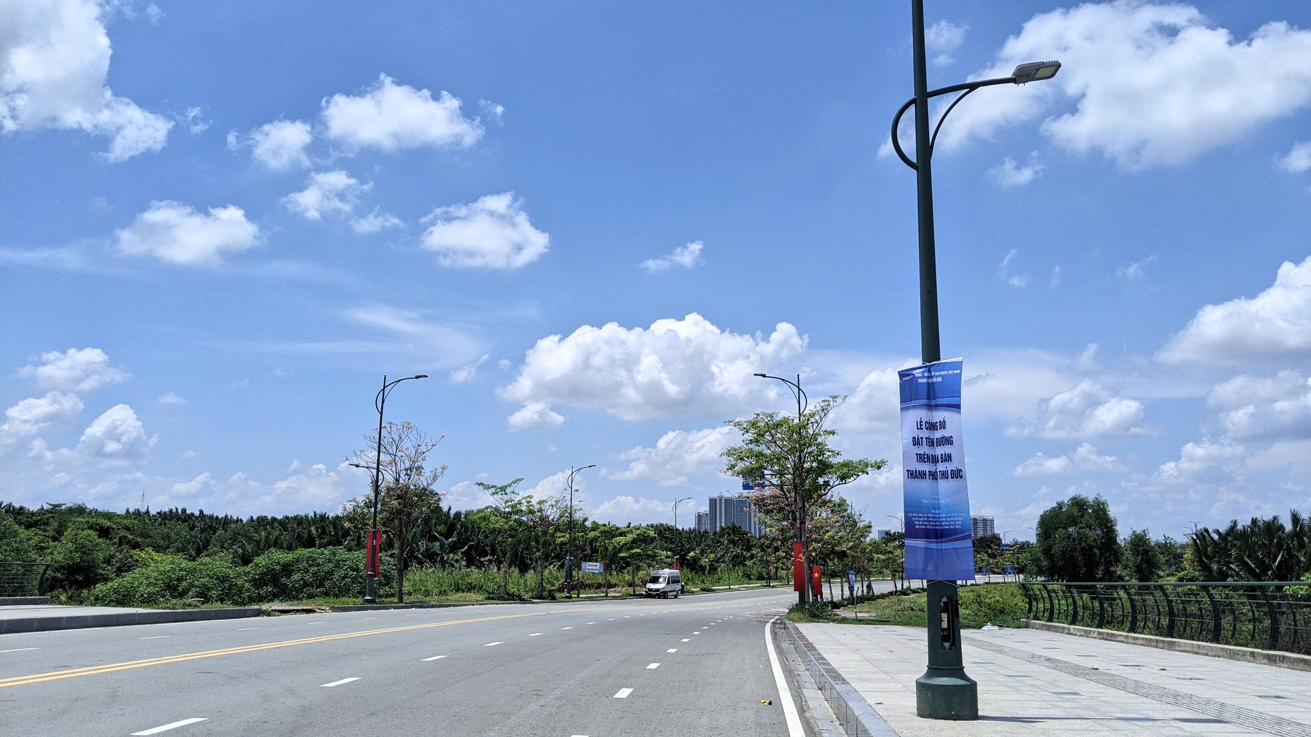 Ngắm những tuyến đường vừa được đặt tên ở TP Thủ Đức - Ảnh 8.
