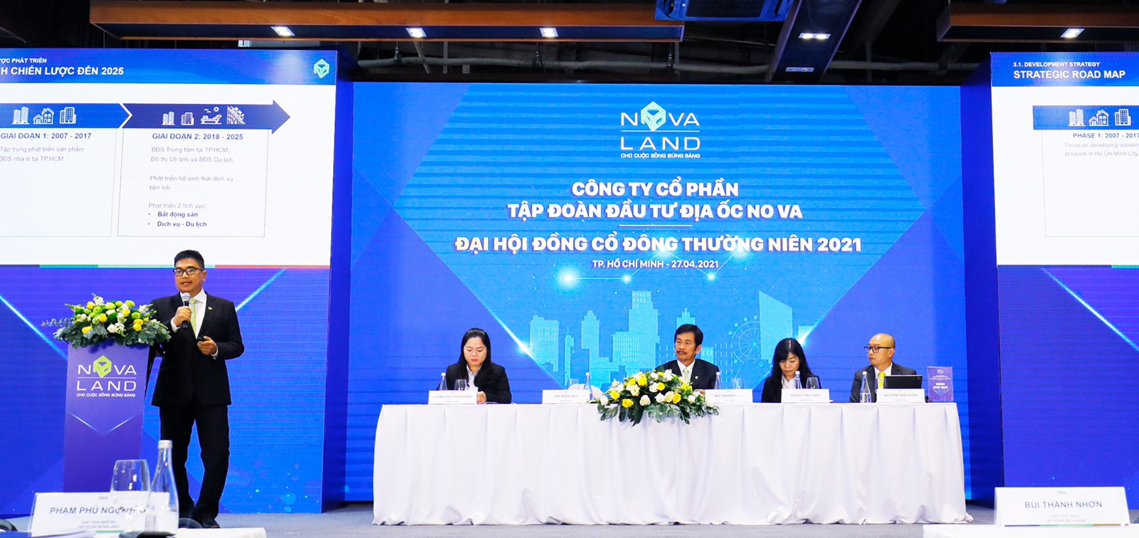 [LIVE] ĐHĐCĐ Novaland: Khởi động chiến lược phát triển BĐS công nghiệp từ 2021, bổ sung quỹ đất 10.000 ha - Ảnh 1.