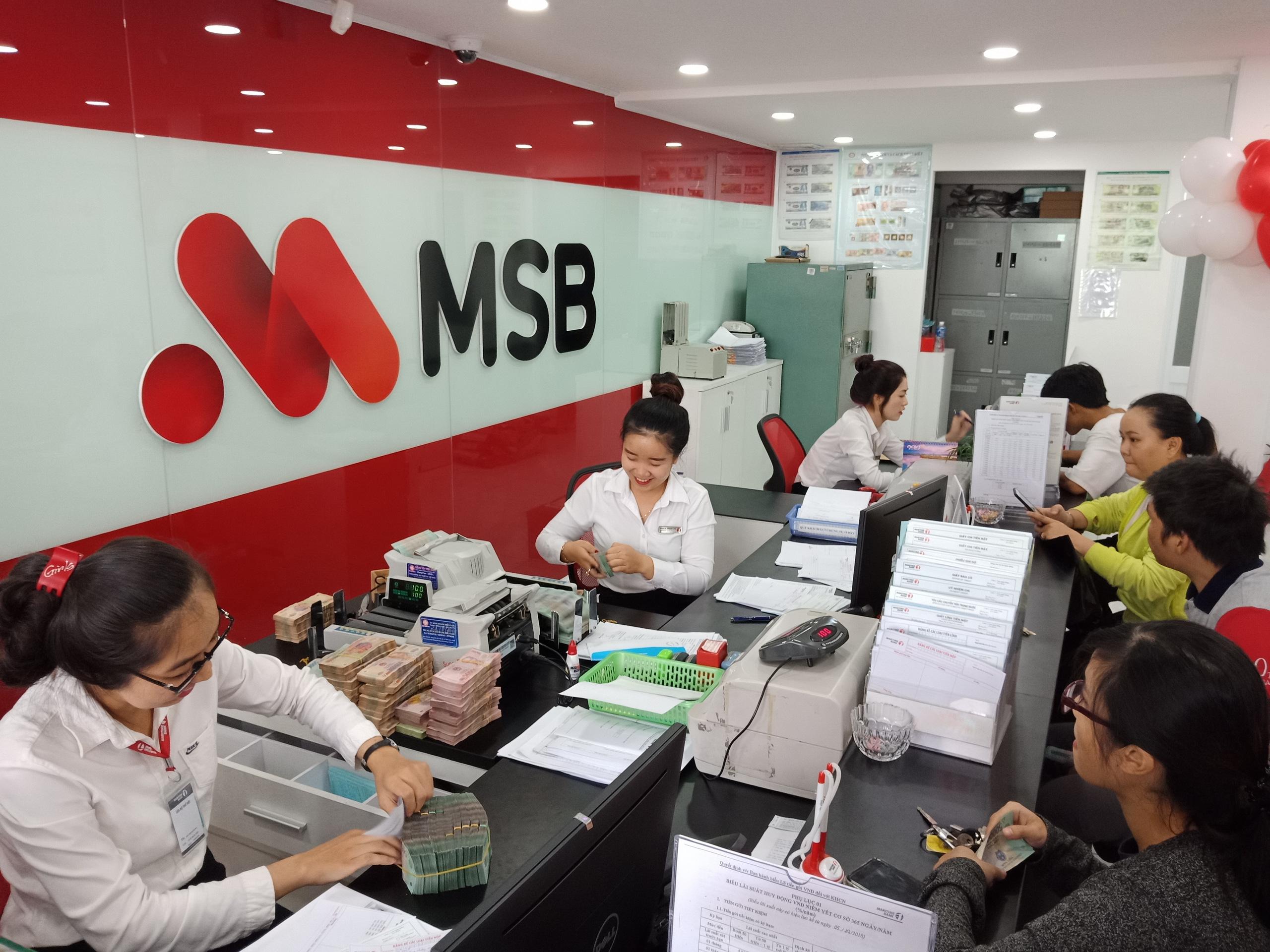 Lợi nhuận quý I/2021 của MSB tăng gấp 4 lần cùng kỳ - Ảnh 2.