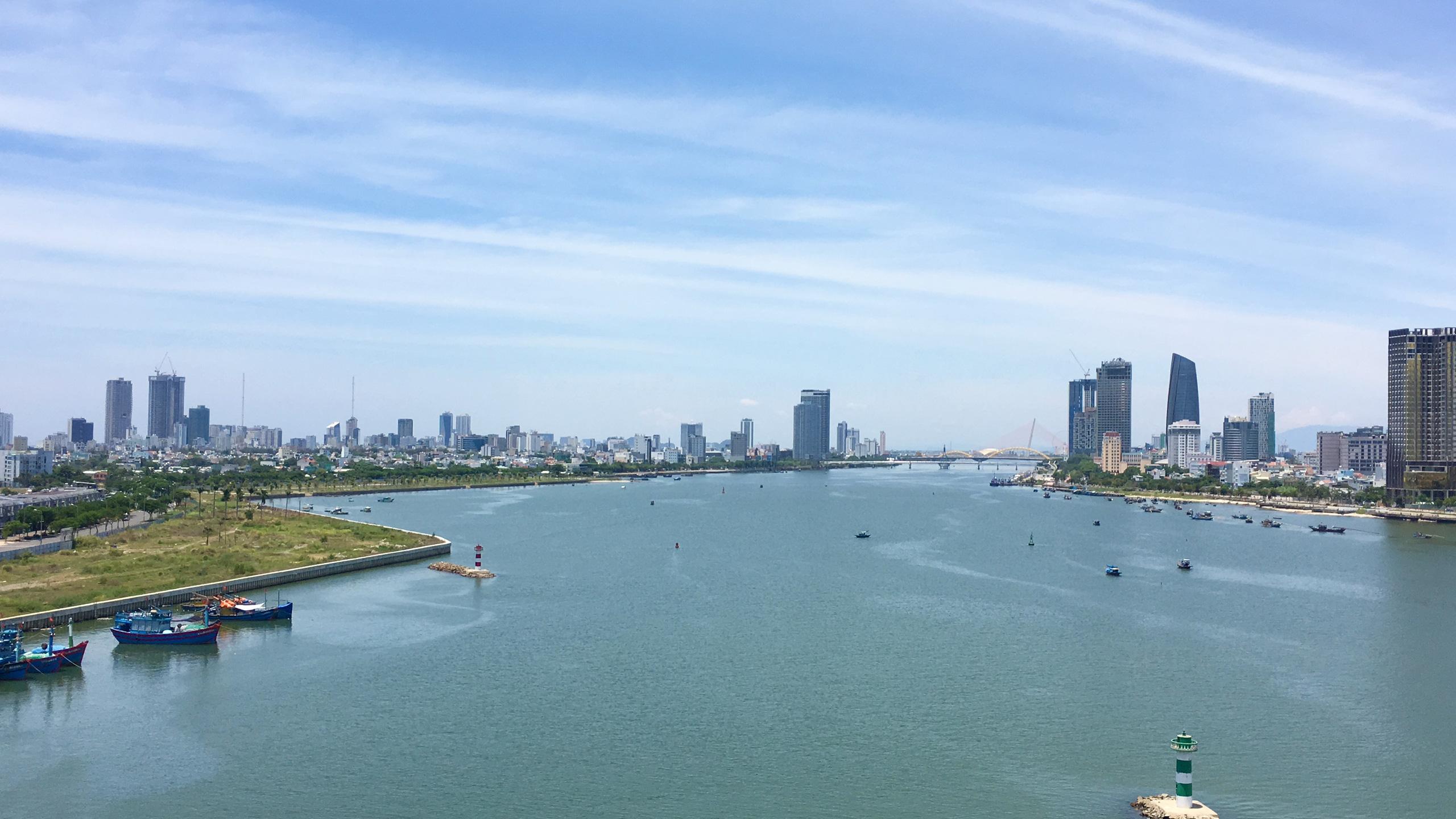 Hạ tầng ven sông Hàn Đà Nẵng hiện tại và trong tương lai - Ảnh 1.