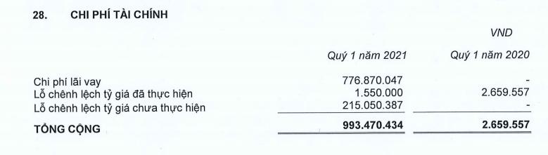 Coteccons xuất hiện khoản vay 340 tỷ đồng trong quý I - Ảnh 6.