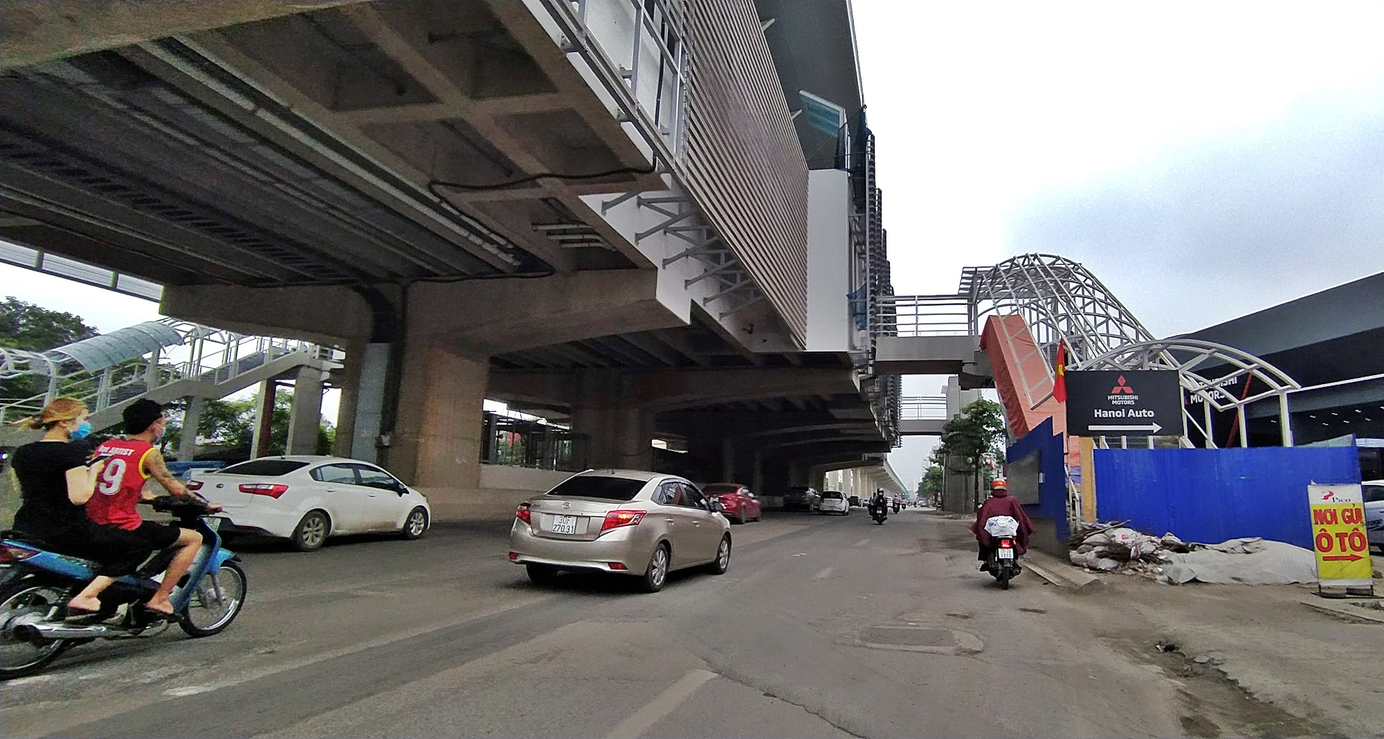 Hình ảnh đường sắt Nhổn - ga Hà Nội khi 'đến hẹn' vận hành đoạn trên cao - Ảnh 12.