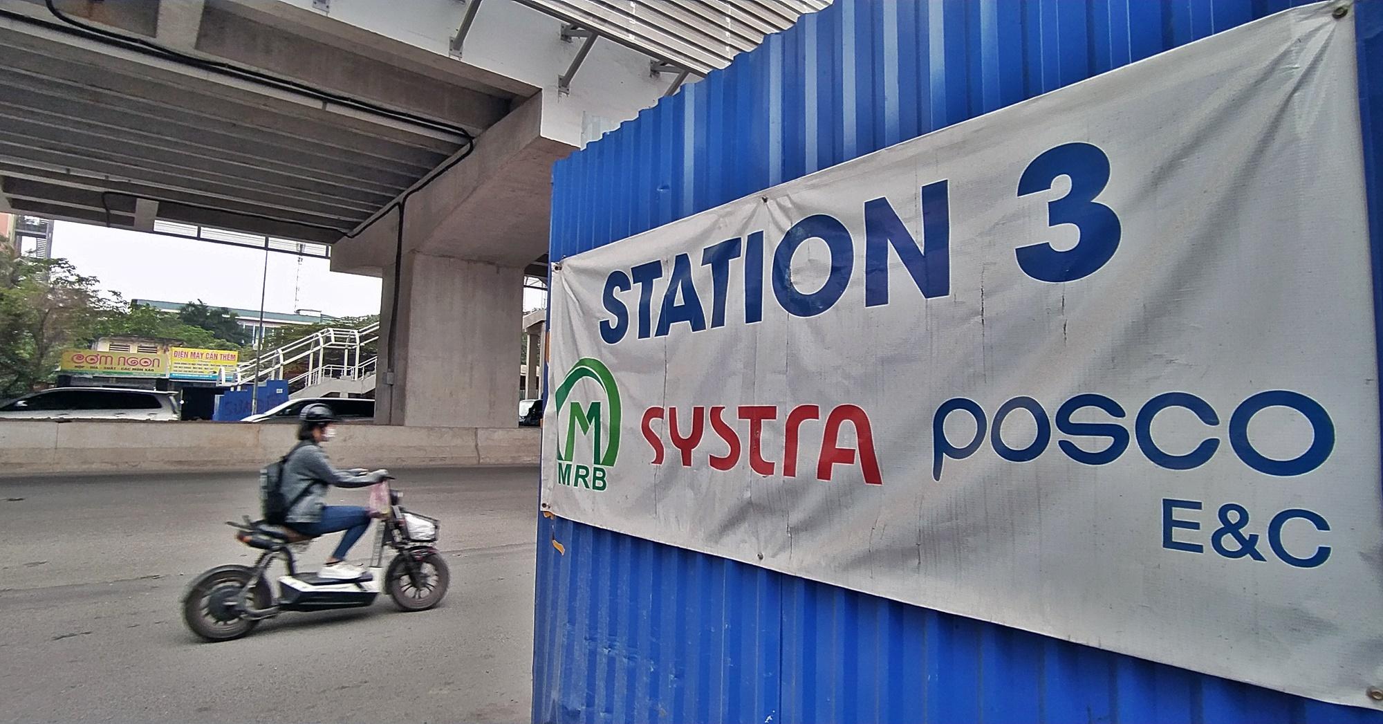Hình ảnh đường sắt Nhổn - ga Hà Nội khi 'đến hẹn' vận hành đoạn trên cao - Ảnh 14.