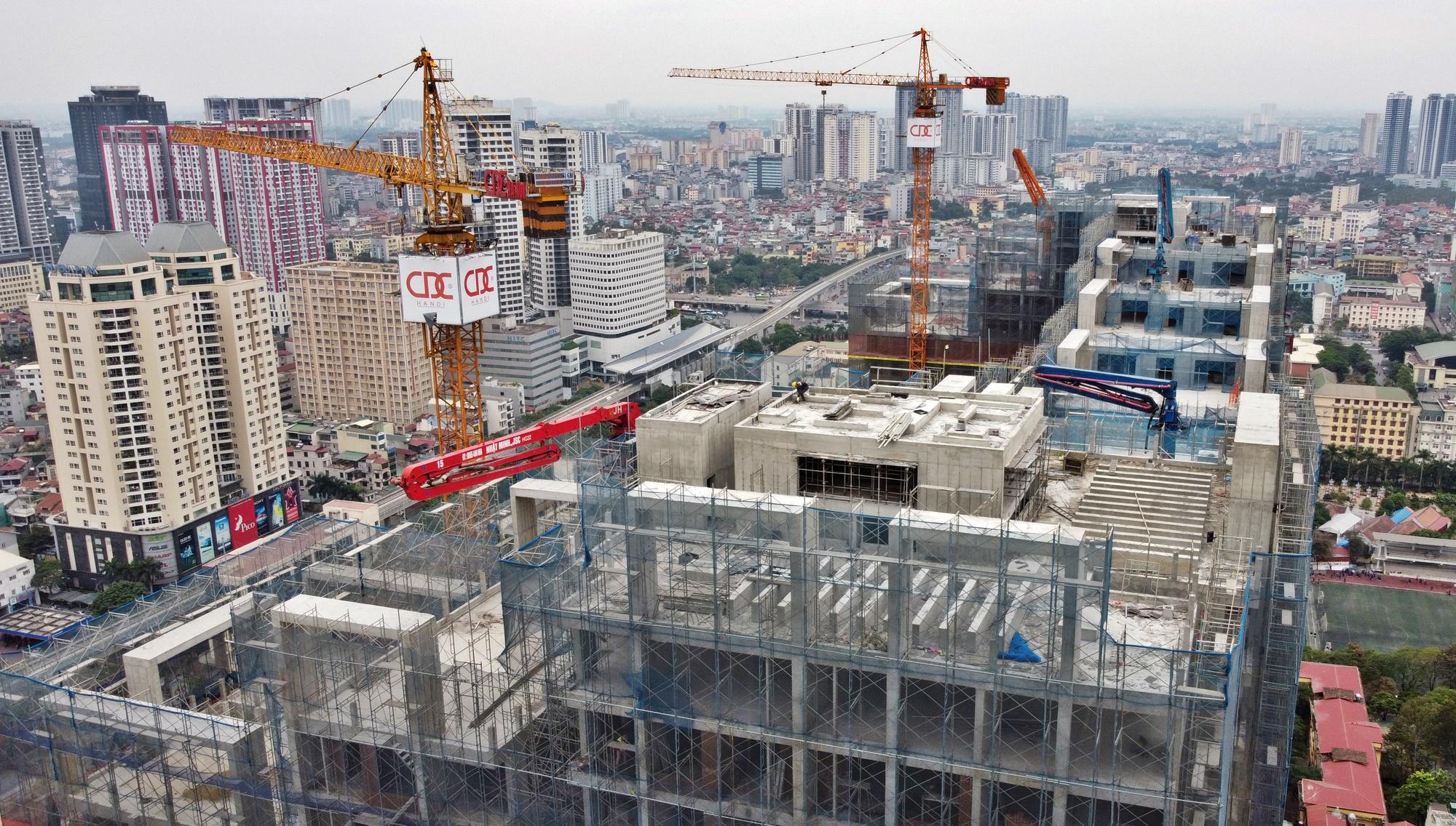 Hình ảnh đường sắt Nhổn - ga Hà Nội khi 'đến hẹn' vận hành đoạn trên cao - Ảnh 2.