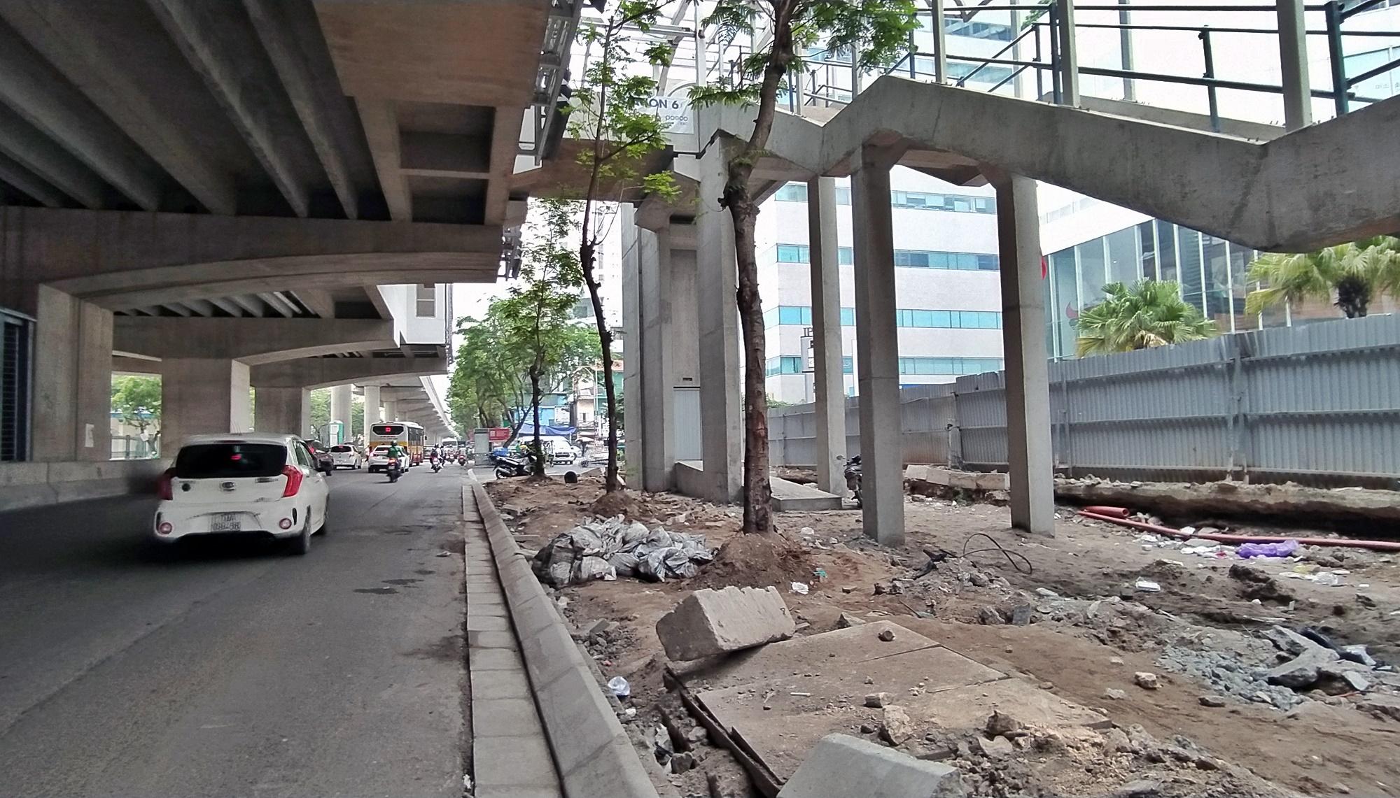 Hình ảnh đường sắt Nhổn - ga Hà Nội khi 'đến hẹn' vận hành đoạn trên cao - Ảnh 6.