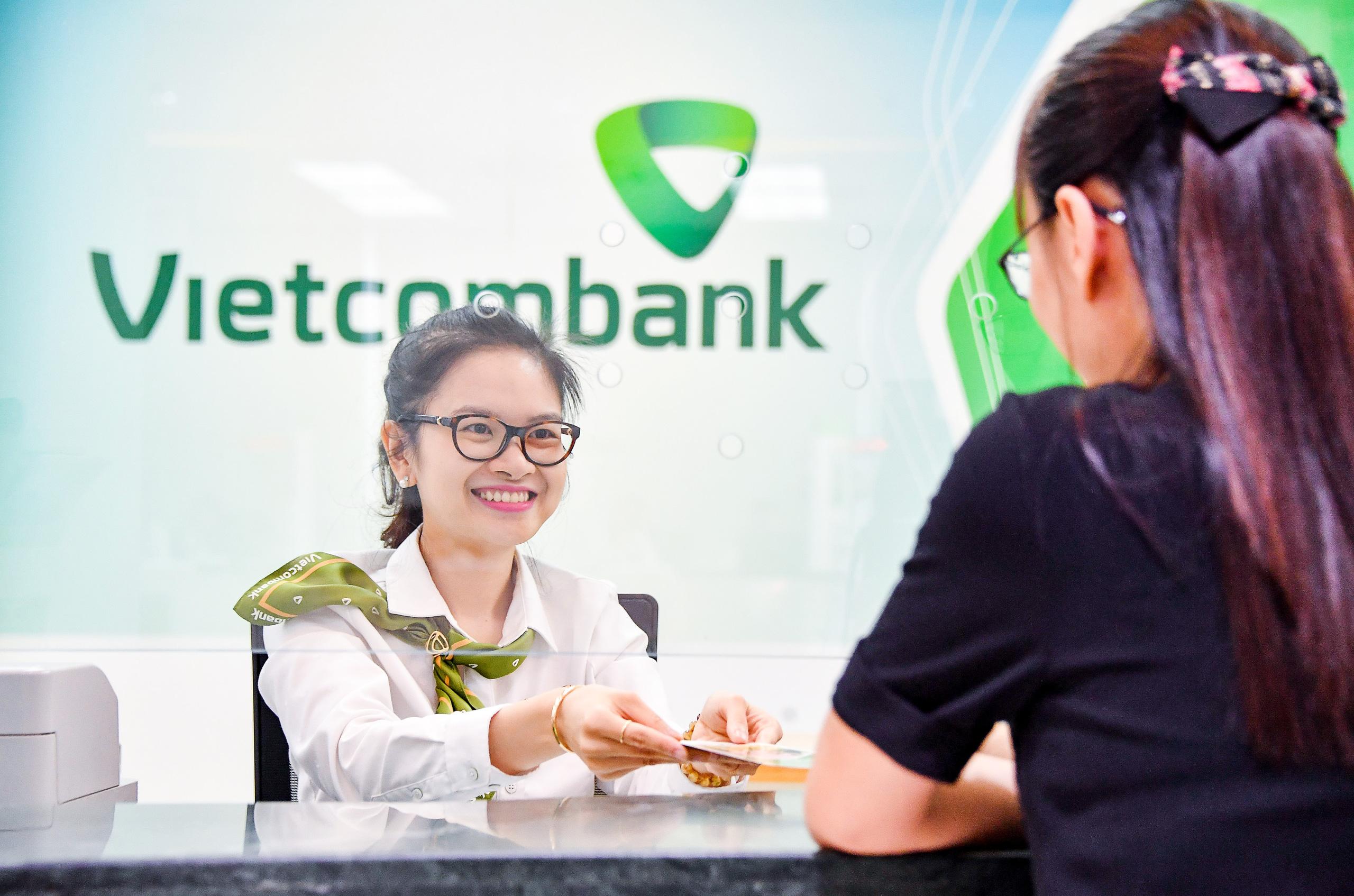 Vietcombank ước lãi 7.000 tỷ đồng trong quý I/2021, tăng trưởng tín dụng đạt 3,7% - Ảnh 1.